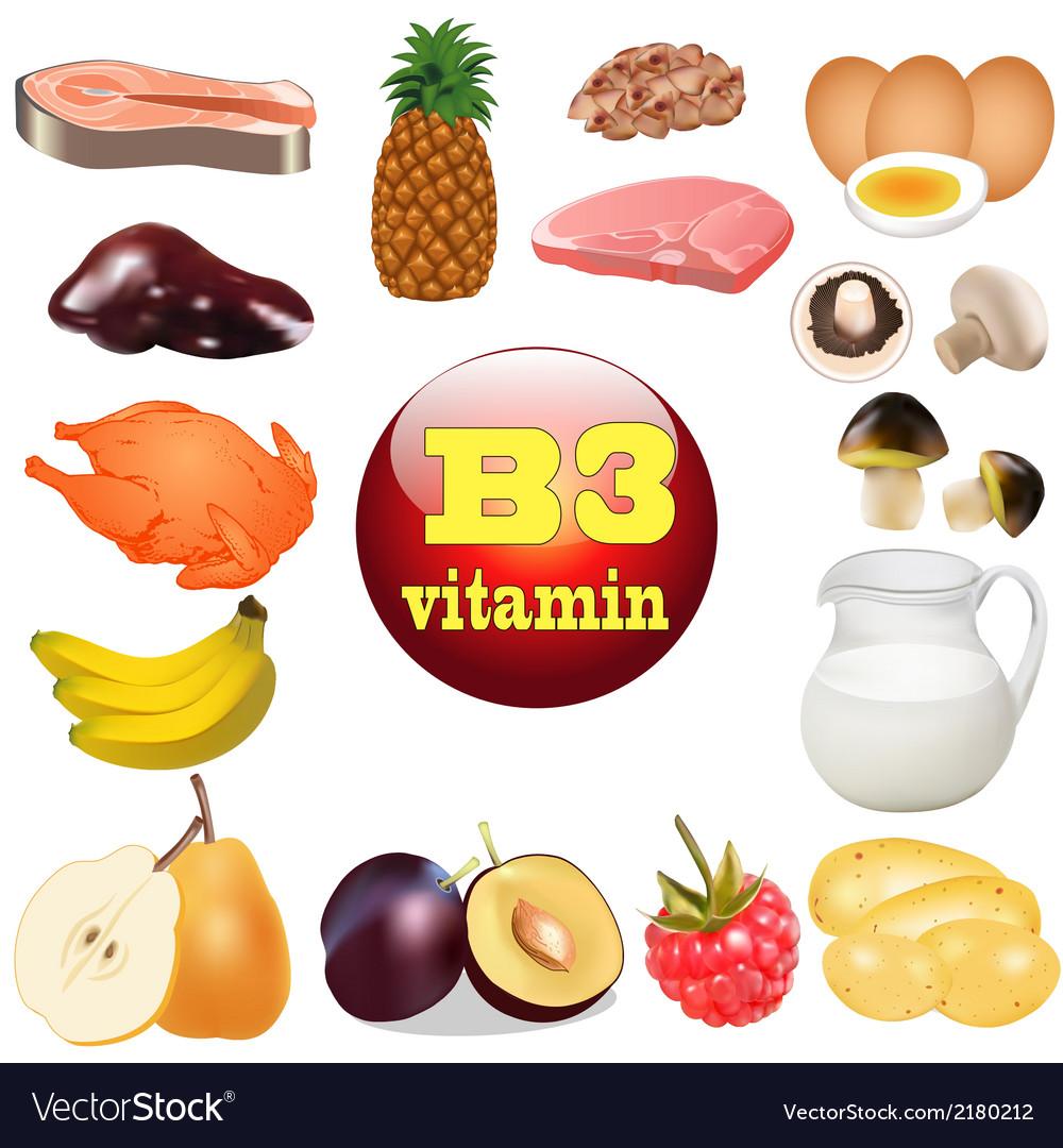 Three vitamin b the origin vector | Price: 1 Credit (USD $1)