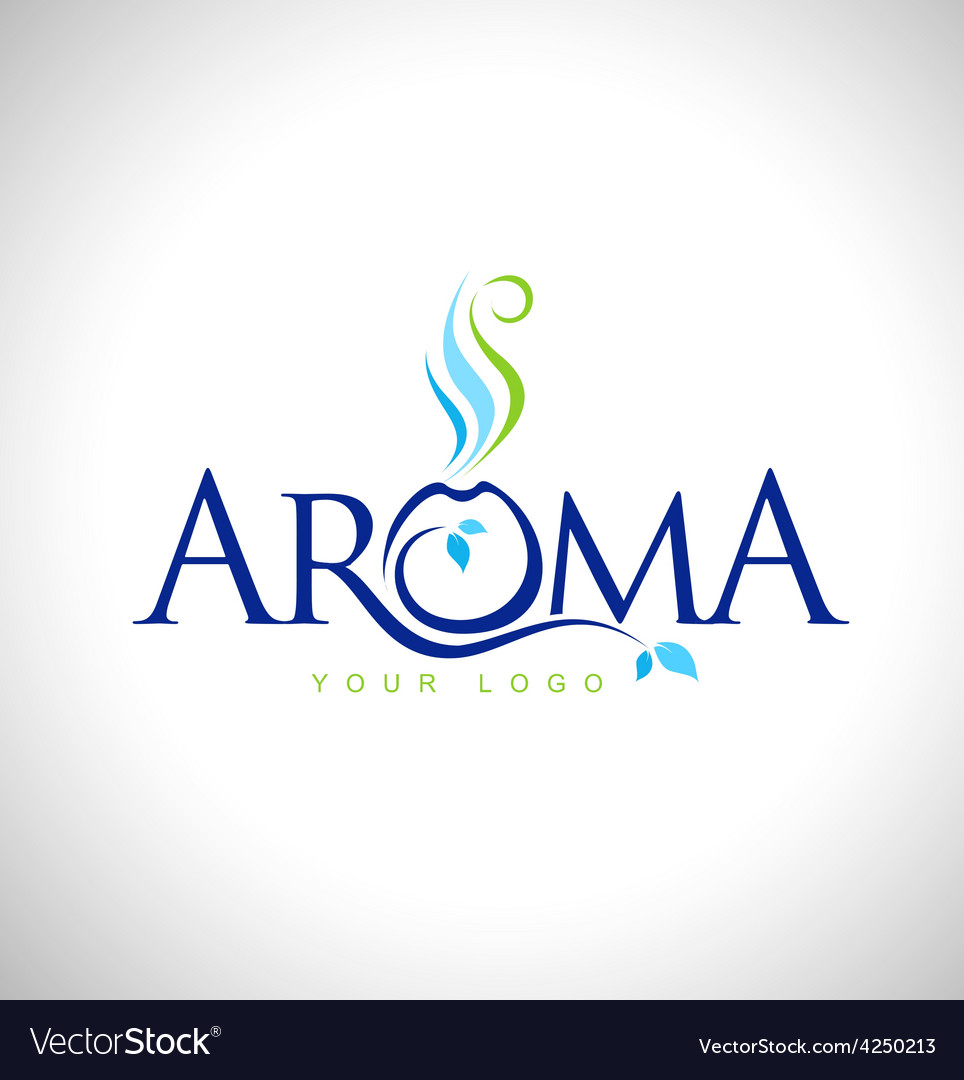 Aroma therapy logo design vector | Price: 1 Credit (USD $1)