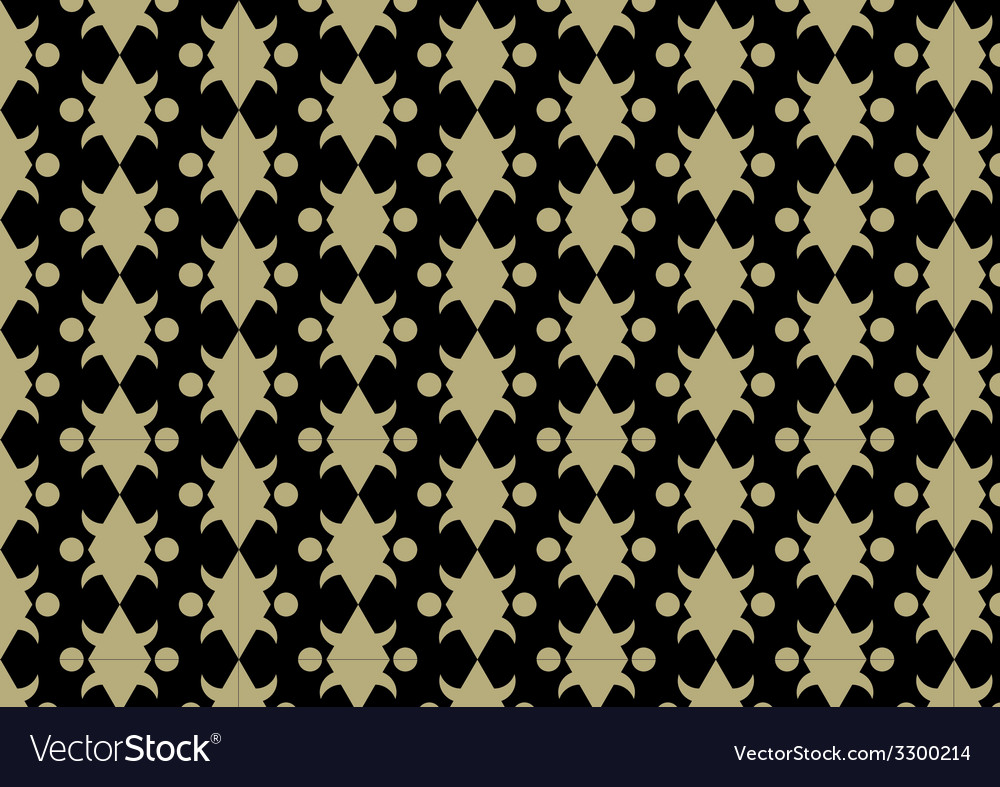 Gold abstract pattern background vector