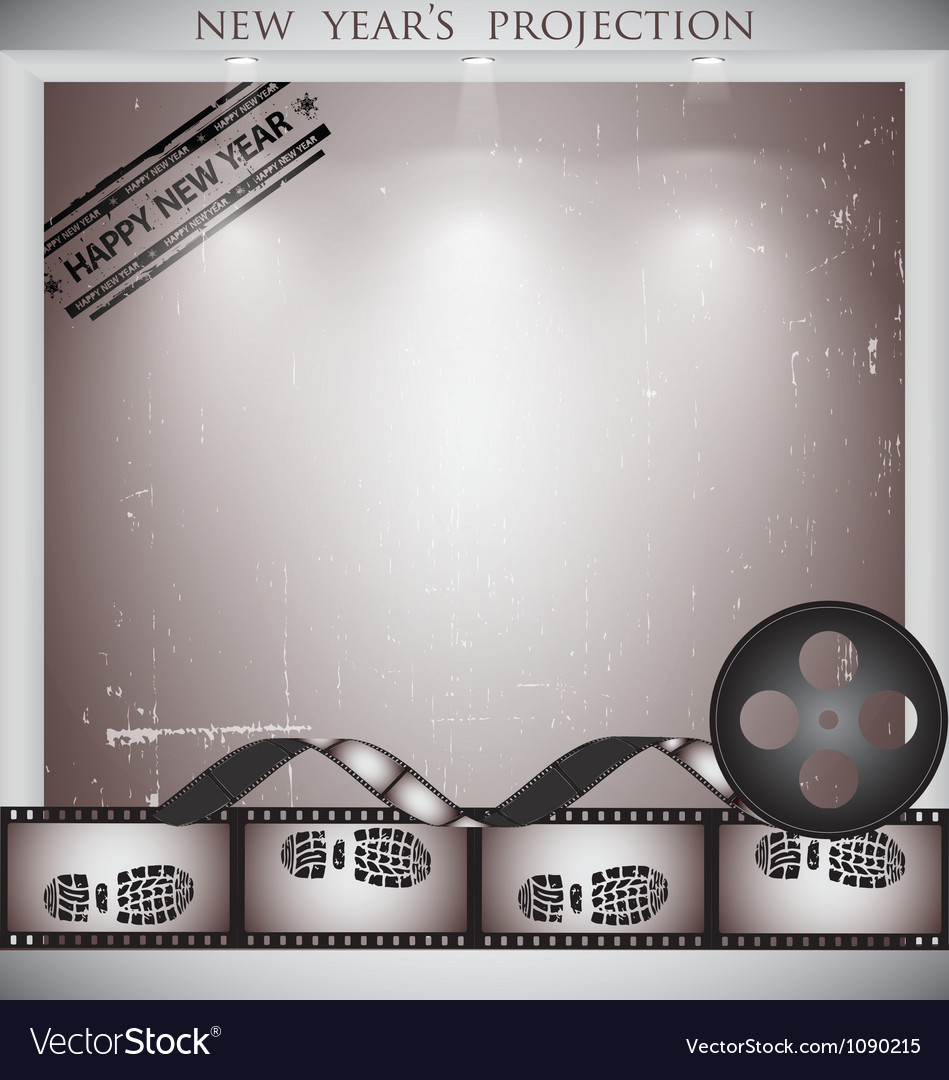 Cinema info panel background vector | Price: 1 Credit (USD $1)