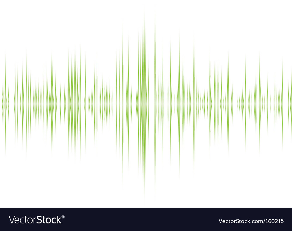 Sound wave background vector | Price: 1 Credit (USD $1)