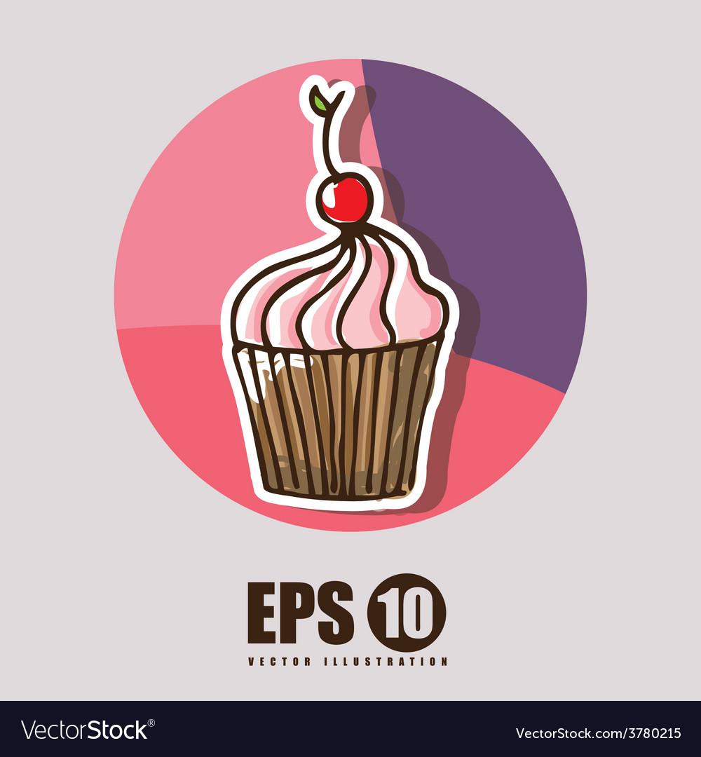 Sweet desserts vector | Price: 1 Credit (USD $1)