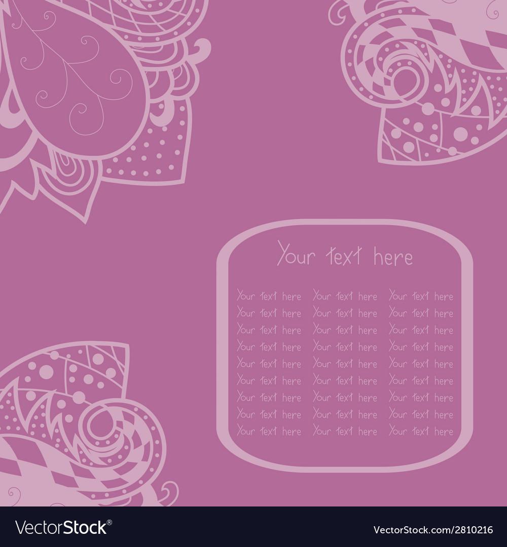 Vintage invitation corners vector | Price: 1 Credit (USD $1)