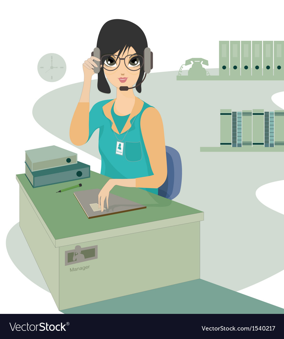 Call center vector   Price: 1 Credit (USD $1)