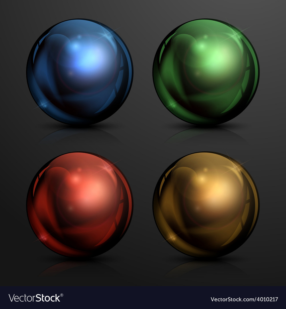 Color balls vector | Price: 1 Credit (USD $1)