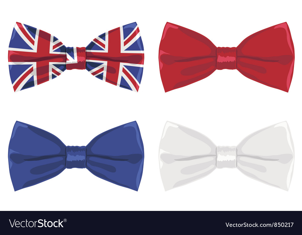 Uk bow tie vector | Price: 1 Credit (USD $1)