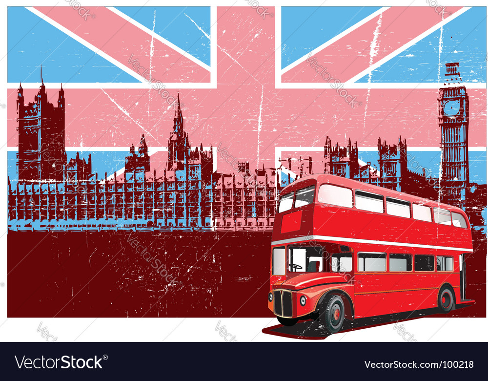 English style poster vector | Price: 3 Credit (USD $3)