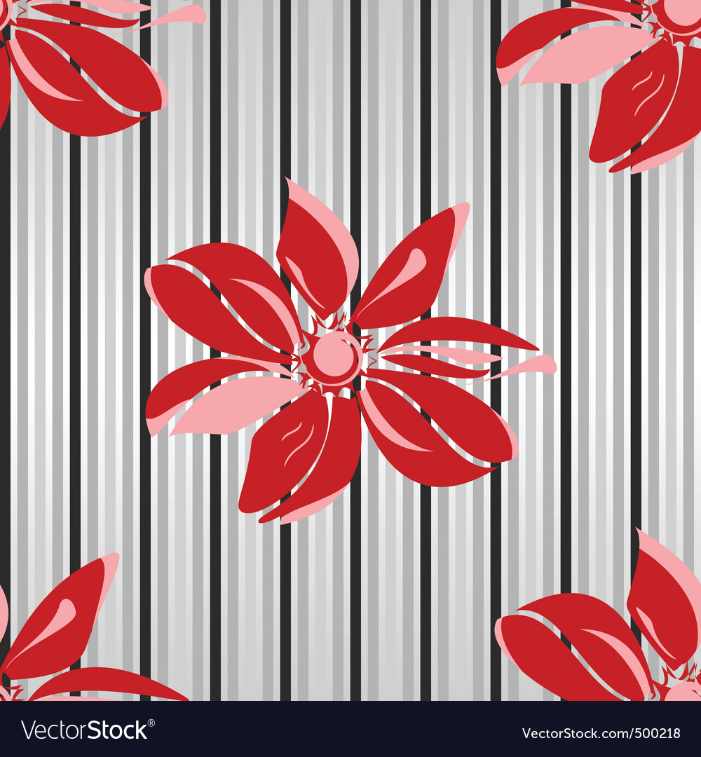 Floral seamless parent vector | Price: 1 Credit (USD $1)
