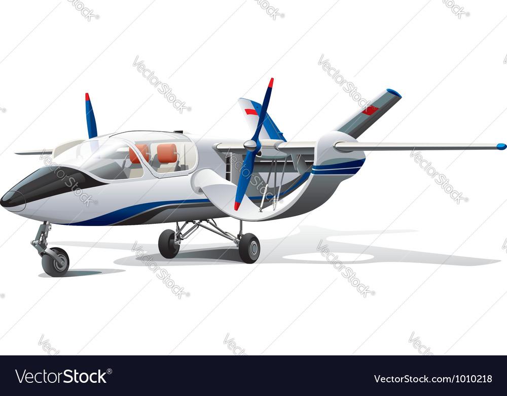 Modern aircraft vector | Price: 5 Credit (USD $5)