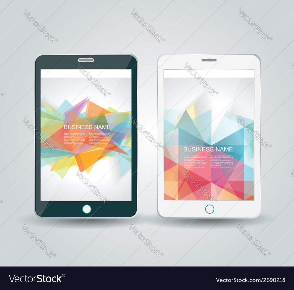 Smartphone mobile phone isolated realistic vector | Price: 1 Credit (USD $1)