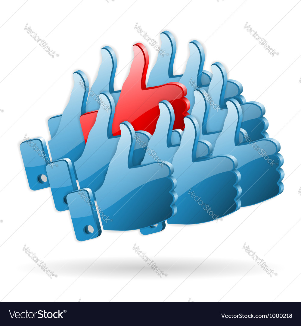 Special opinion - social media concept vector | Price: 1 Credit (USD $1)