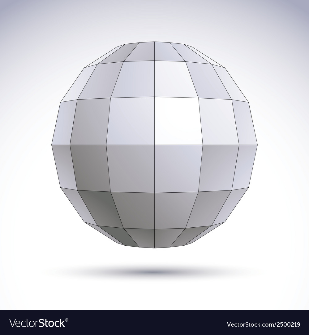 Abstract 3d origami polygonal object geometric vector   Price: 1 Credit (USD $1)