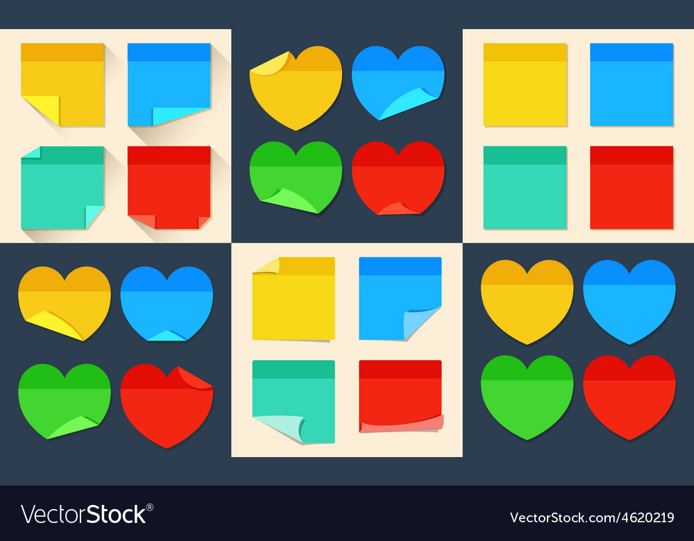 Big set of isolated stickers in flat style vector | Price: 1 Credit (USD $1)