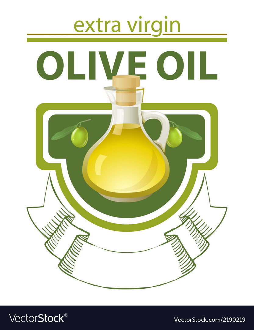 Extra virgin olive oil vector | Price: 1 Credit (USD $1)