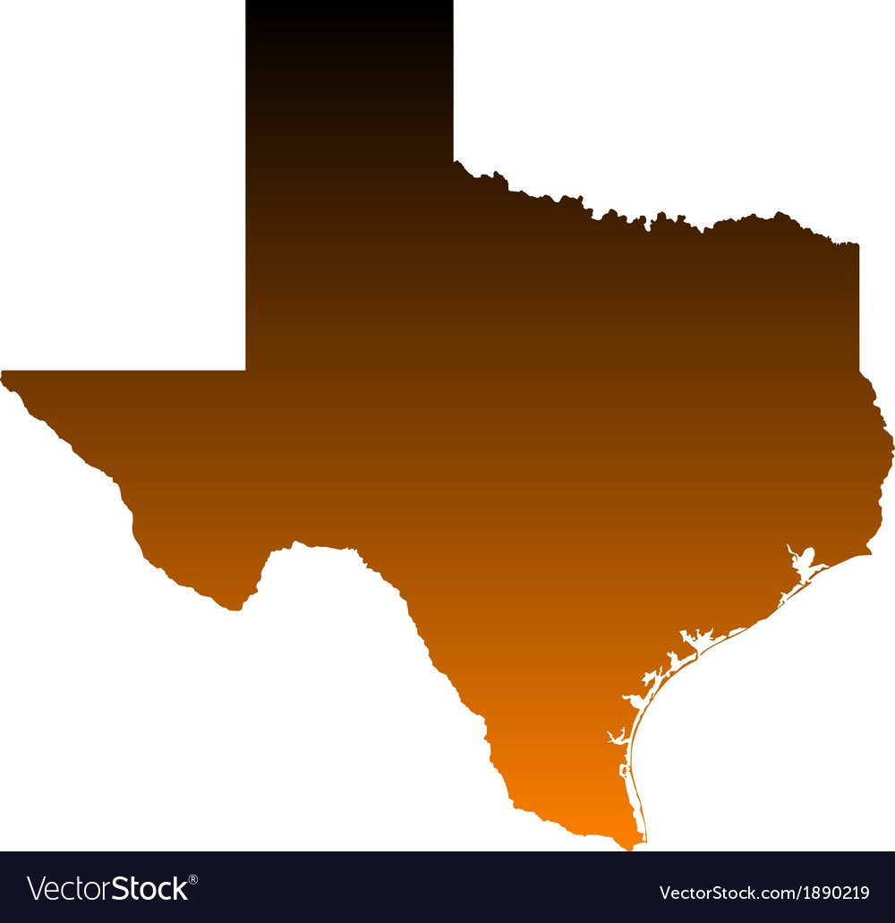 Map of texas vector | Price: 1 Credit (USD $1)