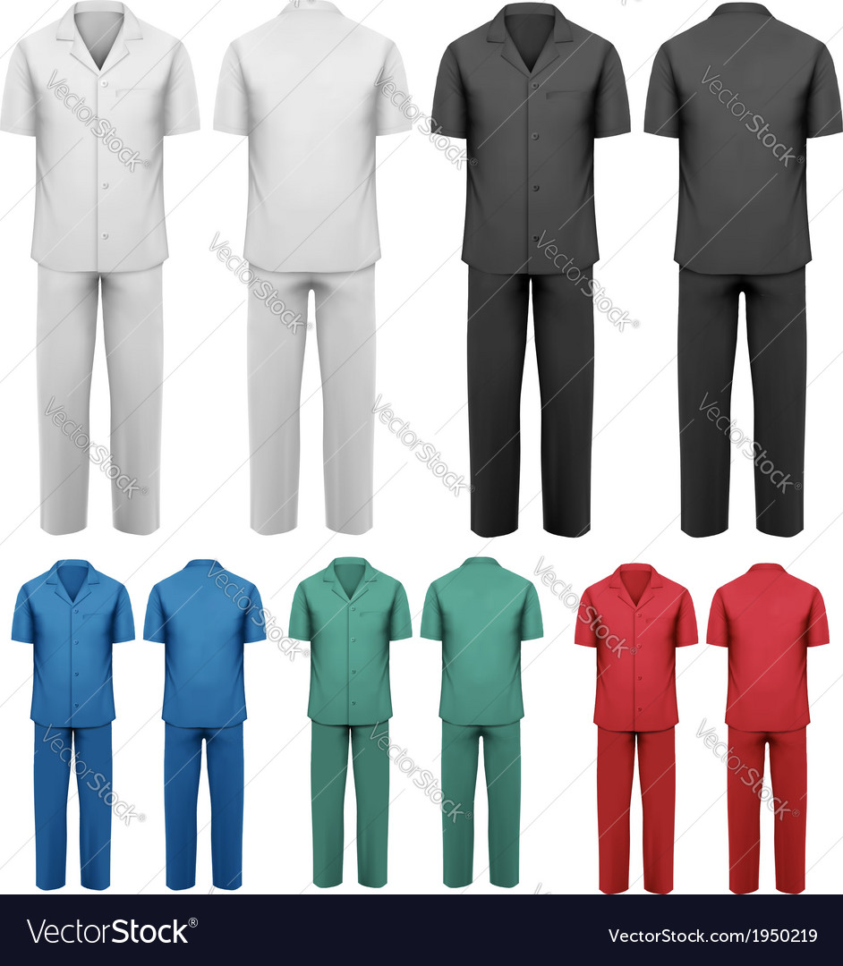 Sets of medicaldoctor clothes vector | Price: 1 Credit (USD $1)