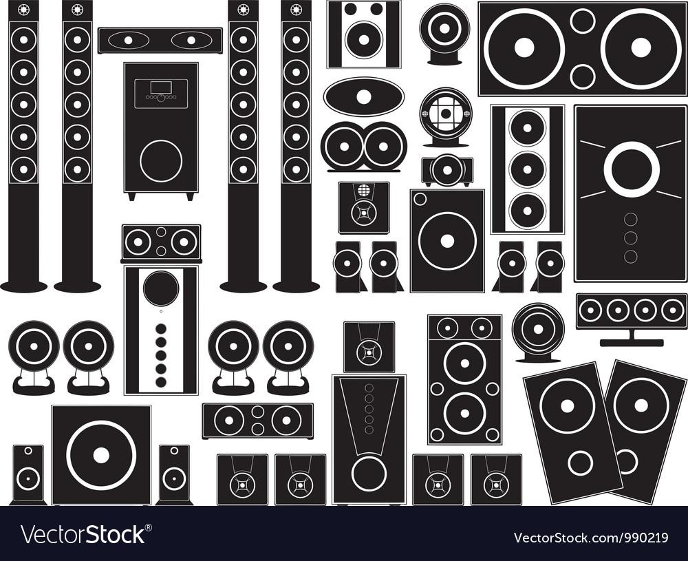 Speakers vector   Price: 1 Credit (USD $1)