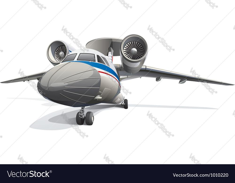 Awacs aircraft vector | Price: 5 Credit (USD $5)