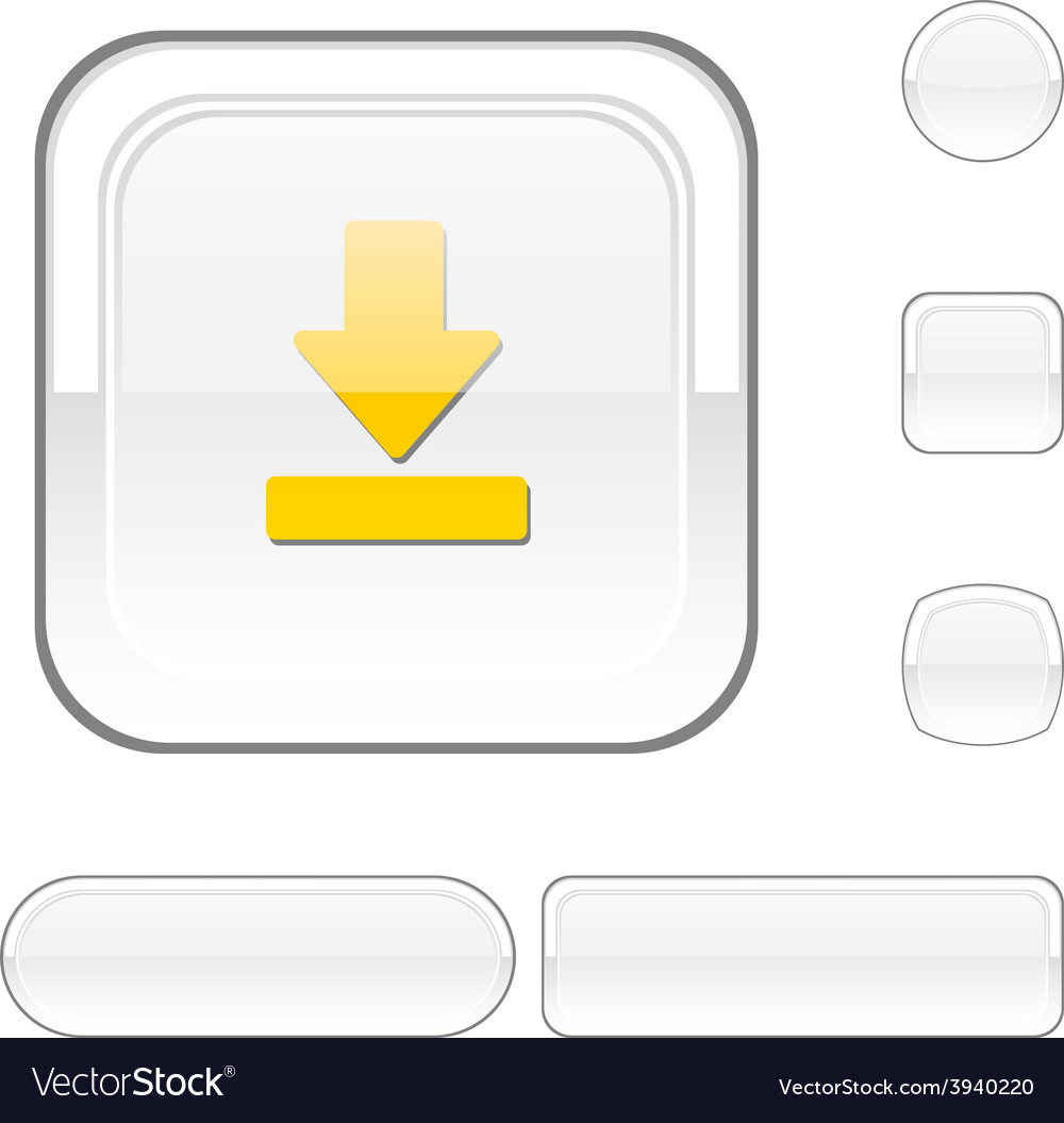Download white button vector | Price: 1 Credit (USD $1)