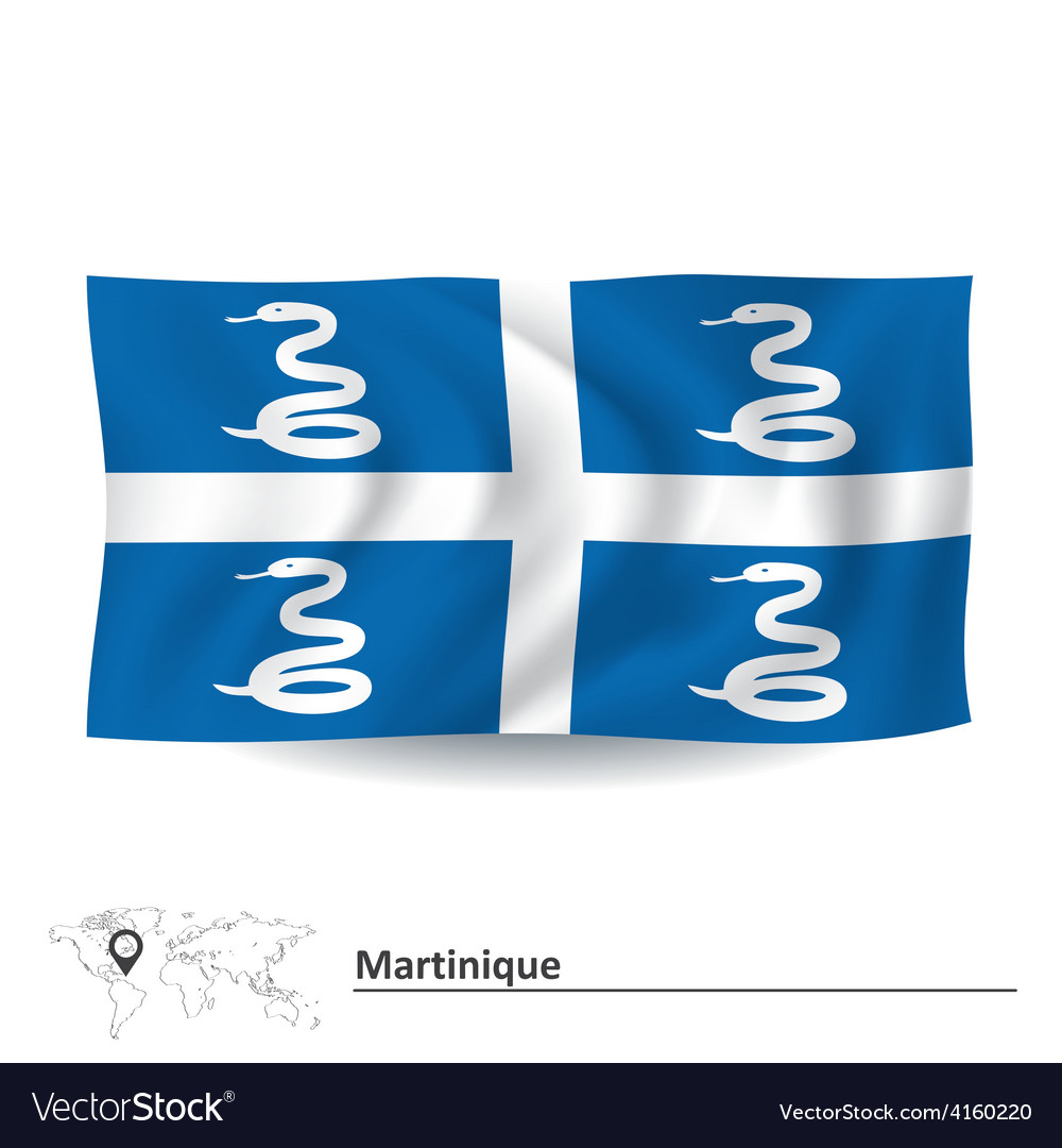 Flag of martinique vector | Price: 1 Credit (USD $1)