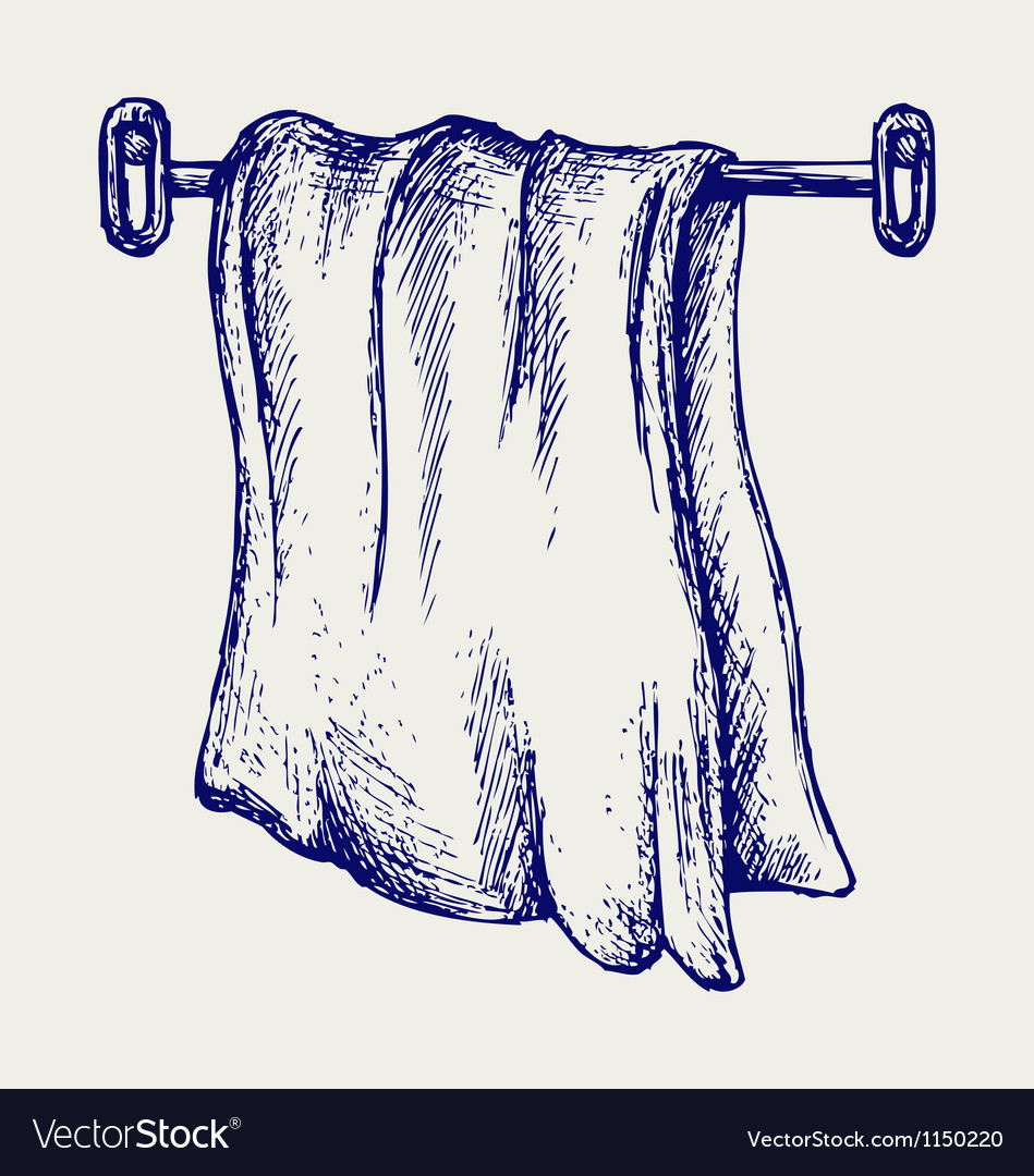 Kitchen towel vector | Price: 1 Credit (USD $1)
