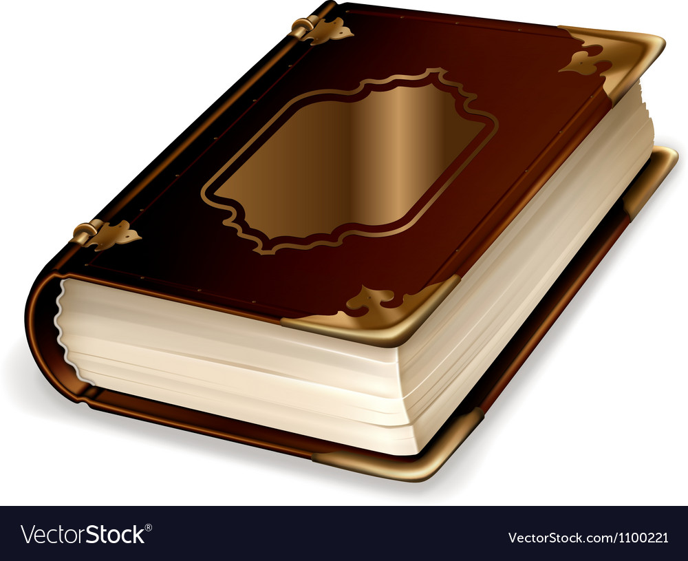 Old book vector | Price: 1 Credit (USD $1)