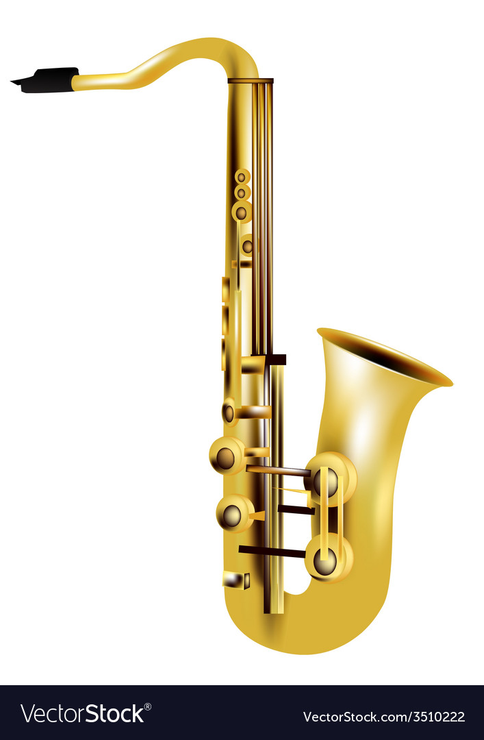 Alto saxophone vector | Price: 1 Credit (USD $1)