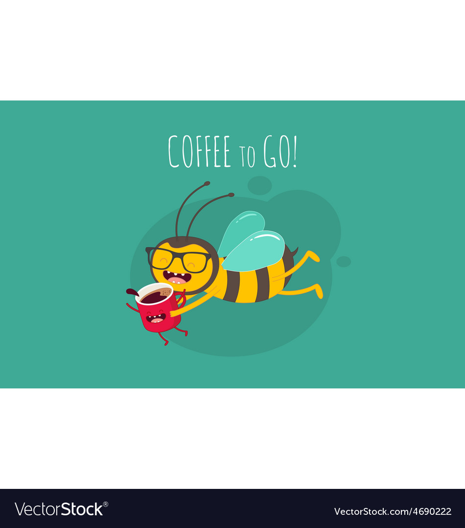 Coffee to go vector | Price: 1 Credit (USD $1)