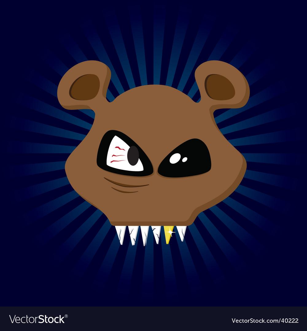 Happy bear vector | Price: 1 Credit (USD $1)