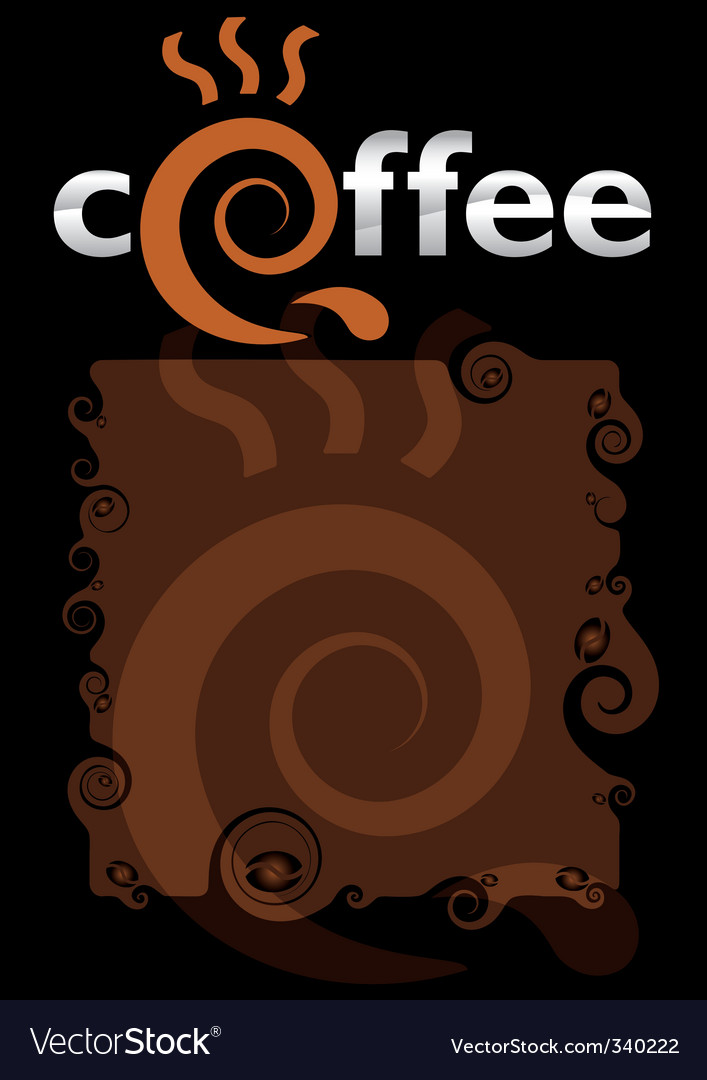 Template for the coffee menu vector | Price: 1 Credit (USD $1)