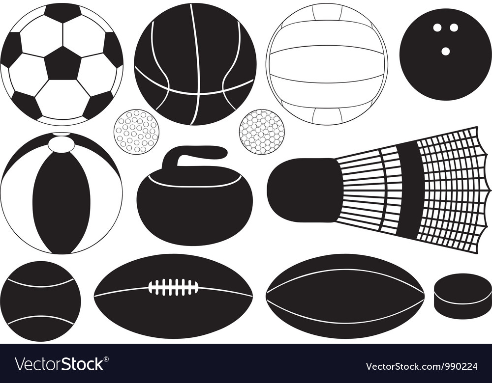 Game balls vector | Price: 1 Credit (USD $1)