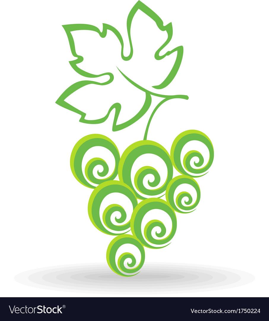 Grape icon vector | Price: 1 Credit (USD $1)