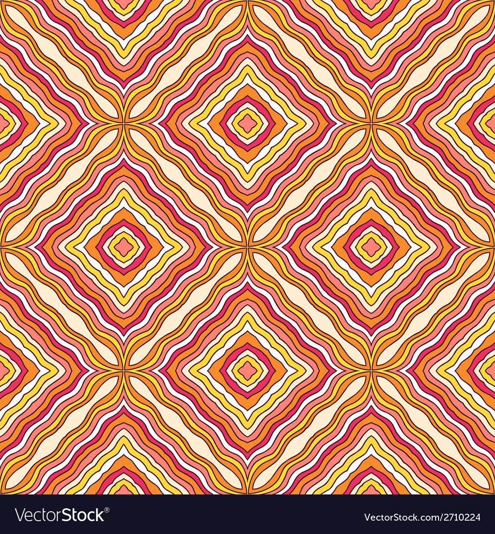 Seamless ornate geometric pattern vector | Price: 1 Credit (USD $1)