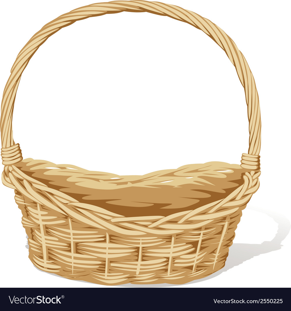 Empty basket vector | Price: 1 Credit (USD $1)