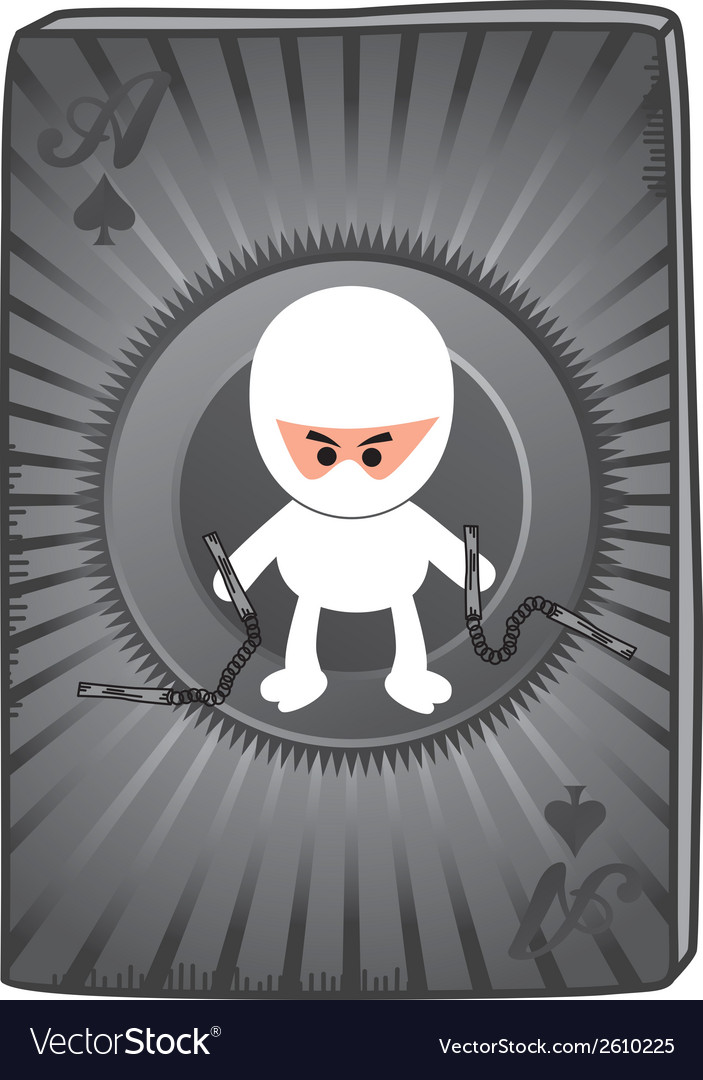 Ninja card vector | Price: 1 Credit (USD $1)