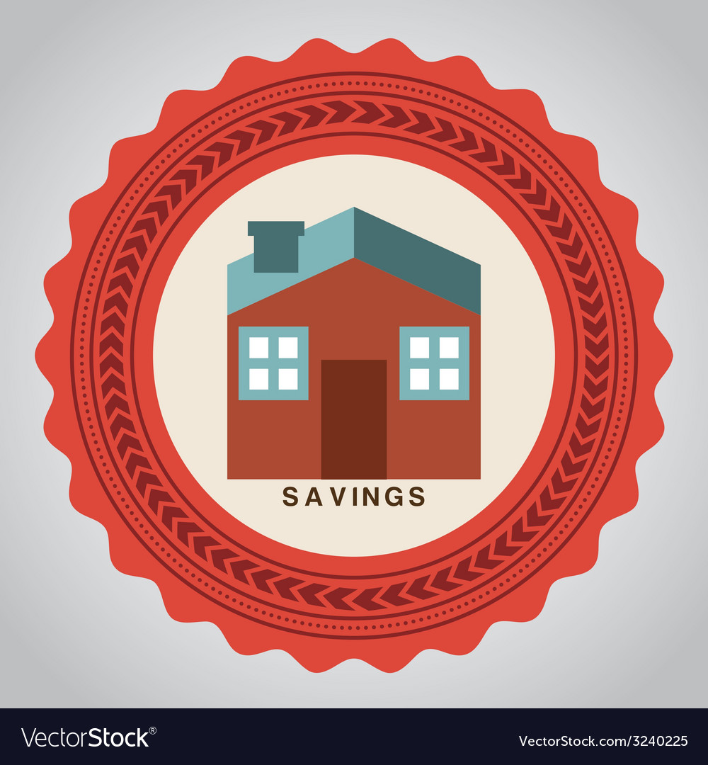 Savings design vector | Price: 1 Credit (USD $1)