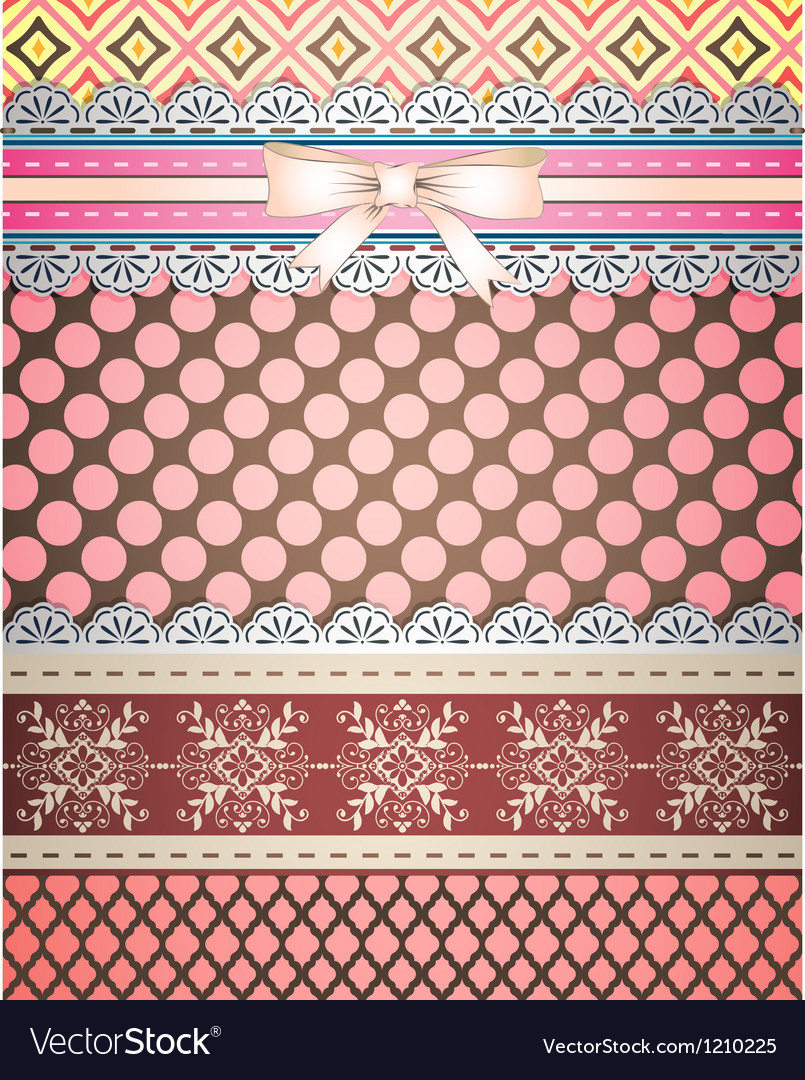 Set of patterns and borders for scrapbooking all vector | Price: 1 Credit (USD $1)