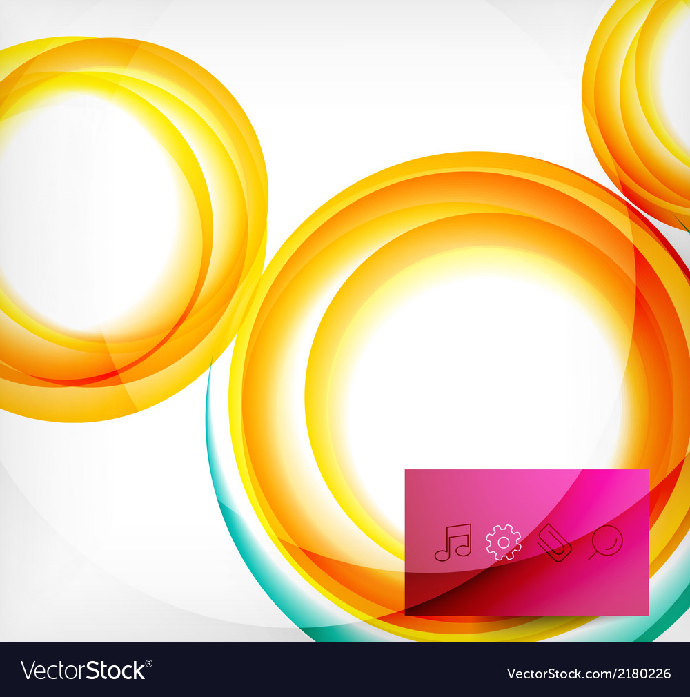 Colorful swirl motion design concept vector | Price: 1 Credit (USD $1)