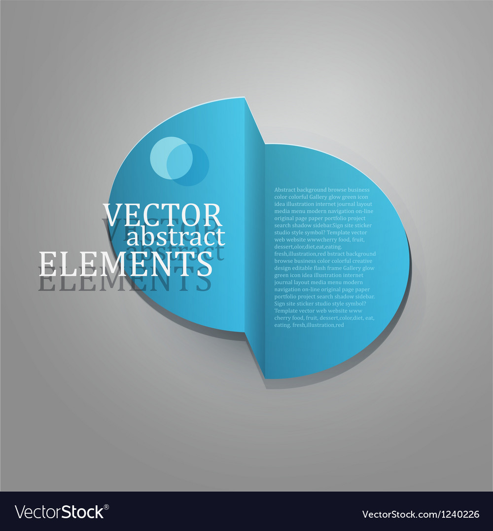 Element for business design vector | Price: 1 Credit (USD $1)