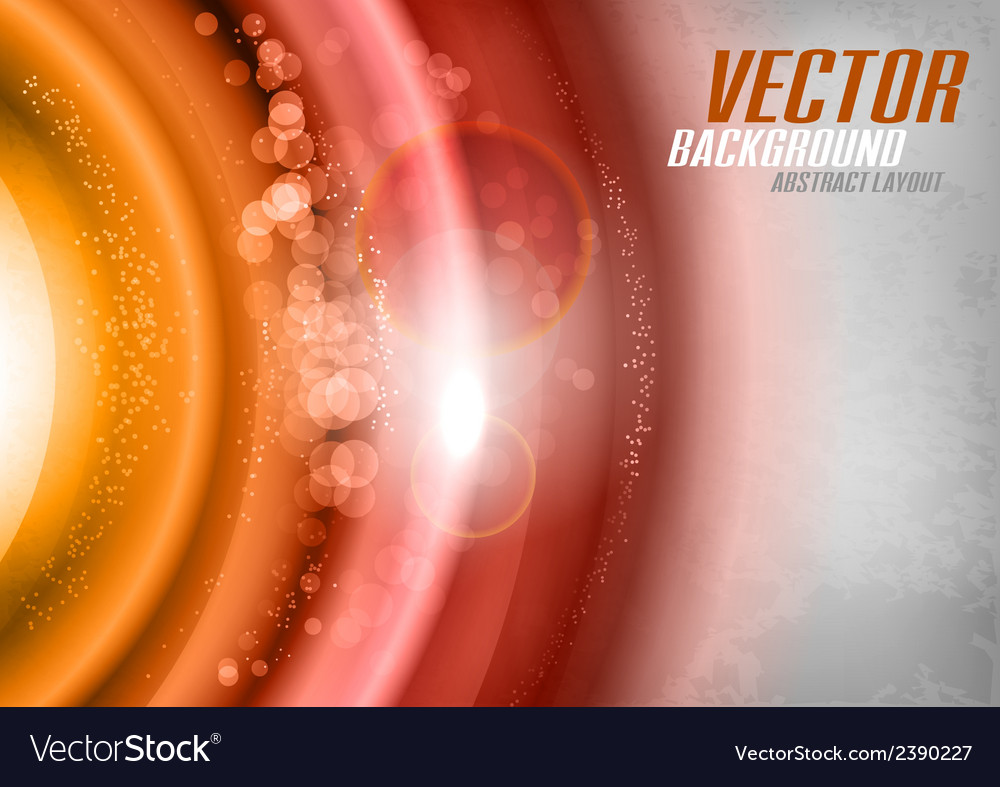 Orange universe vector | Price: 1 Credit (USD $1)