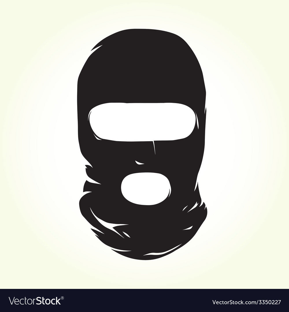 Terrorist mask vector | Price: 1 Credit (USD $1)