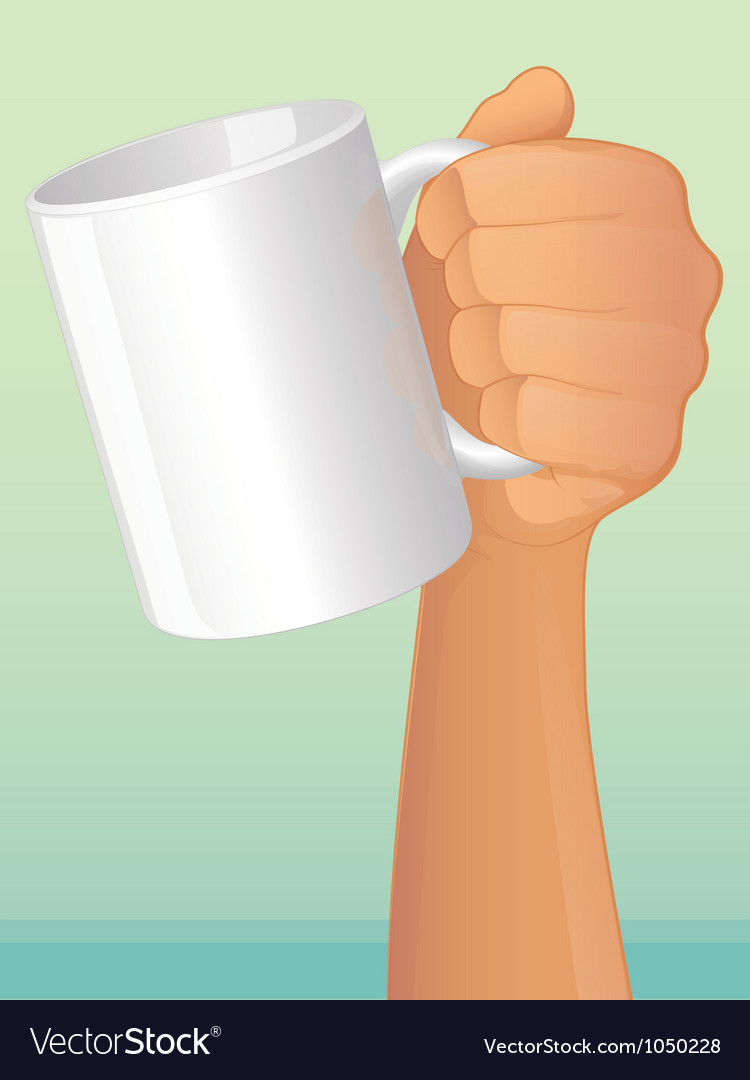 Coffee mug vector | Price: 1 Credit (USD $1)