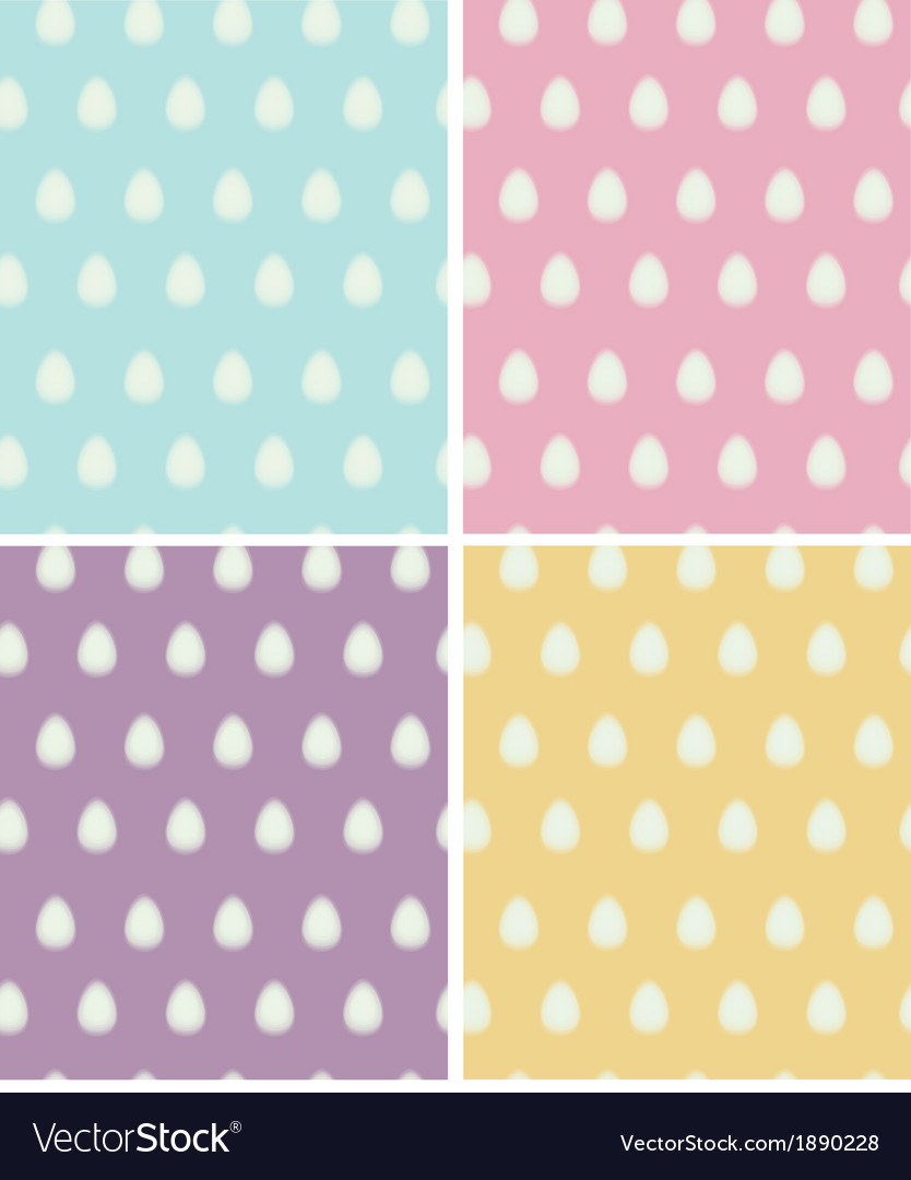 Easter seamless egg vector | Price: 1 Credit (USD $1)