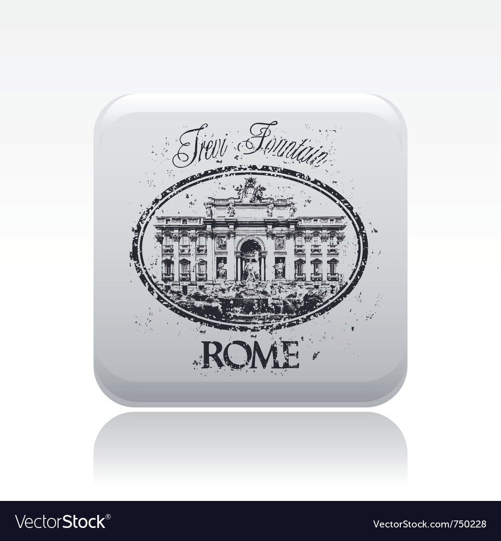 Rome icon vector | Price: 1 Credit (USD $1)