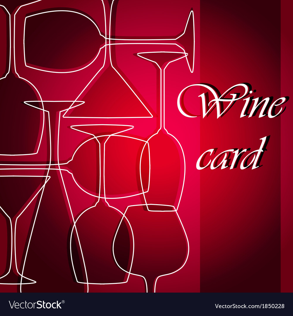 Template of alcohol card vector | Price: 1 Credit (USD $1)