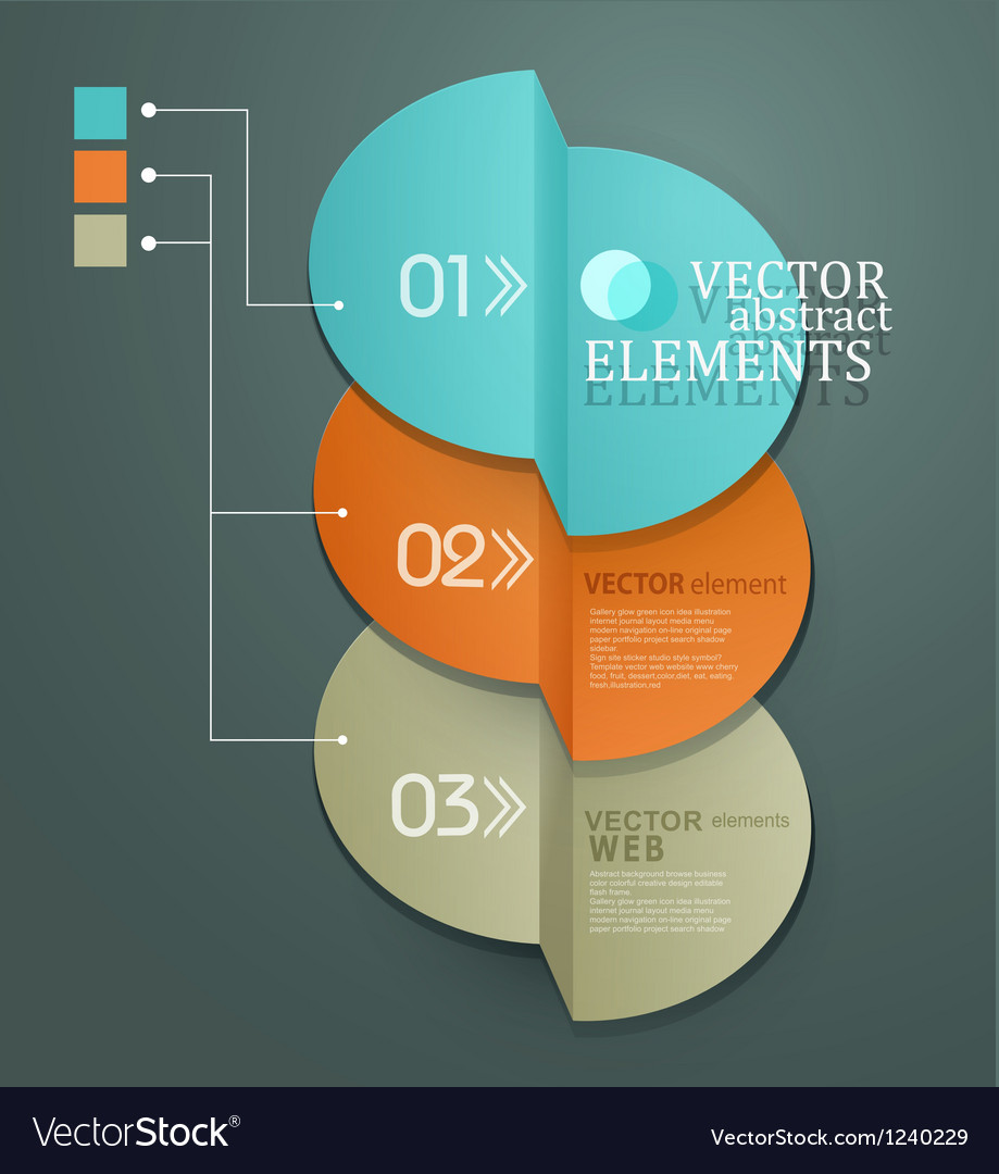 Element for business and web design vector | Price: 1 Credit (USD $1)