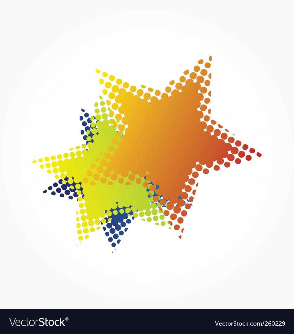 Halftone stars vector   Price: 1 Credit (USD $1)