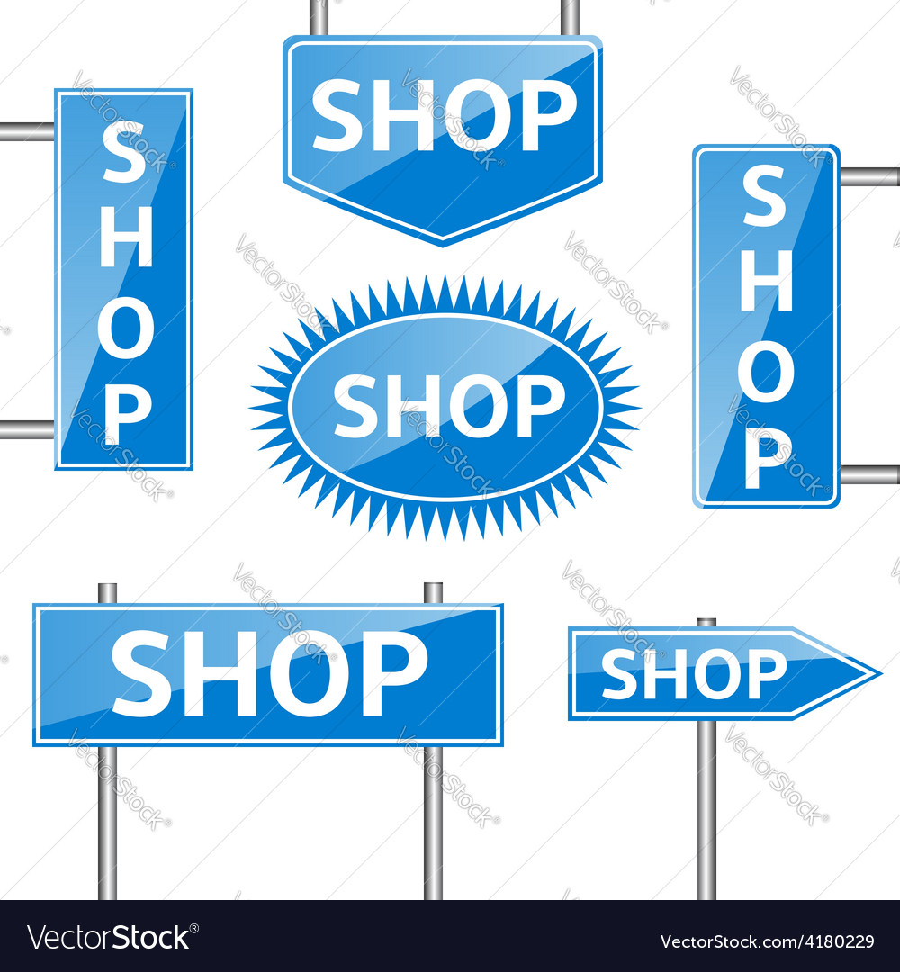 Shop banners vector | Price: 1 Credit (USD $1)
