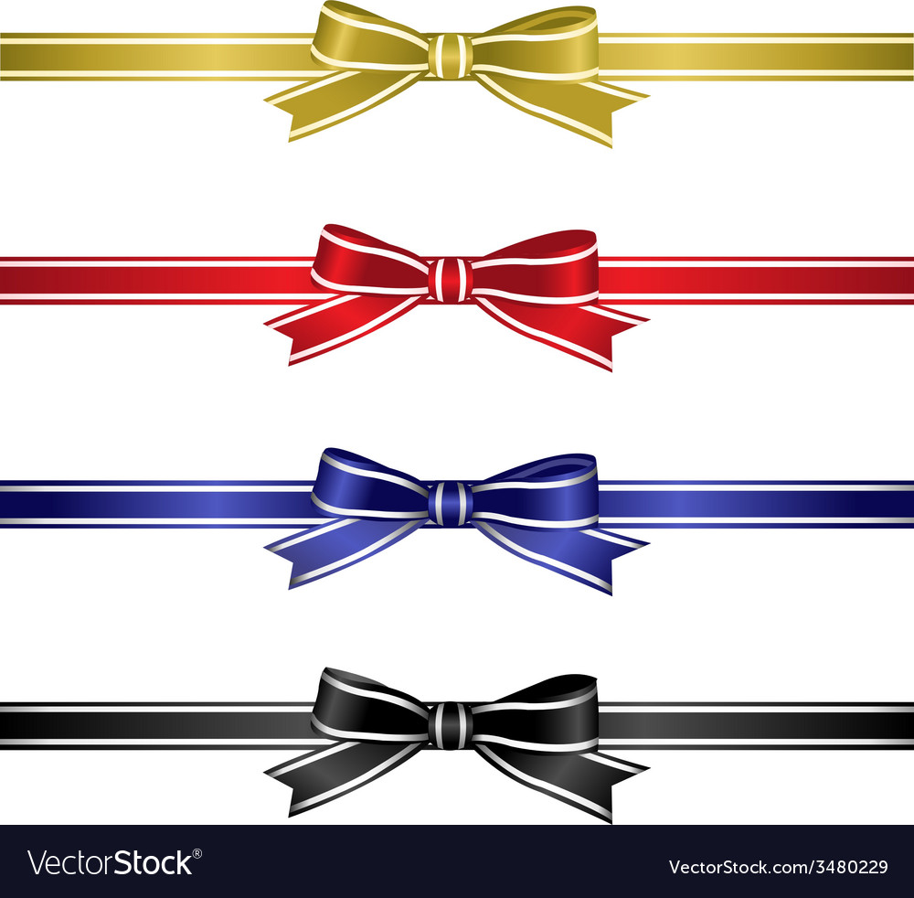 Silk ribbons set vector | Price: 1 Credit (USD $1)