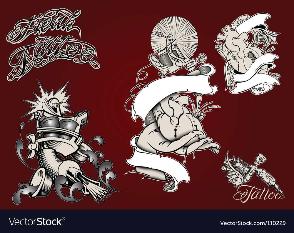 Tattoo vector | Price: 3 Credit (USD $3)
